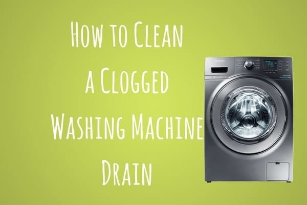 washing machine drain cleaner